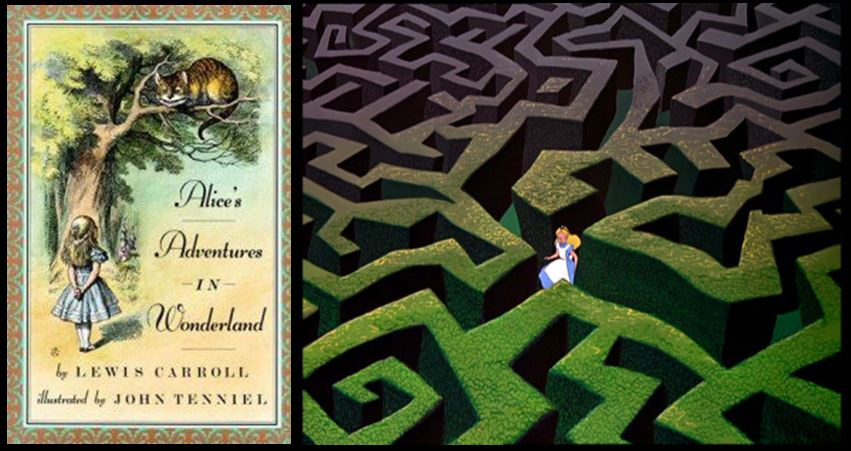 The psychology of the maze as a modern symbol culture for Au jardin d alice
