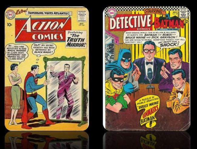 alter ego of superheroes
