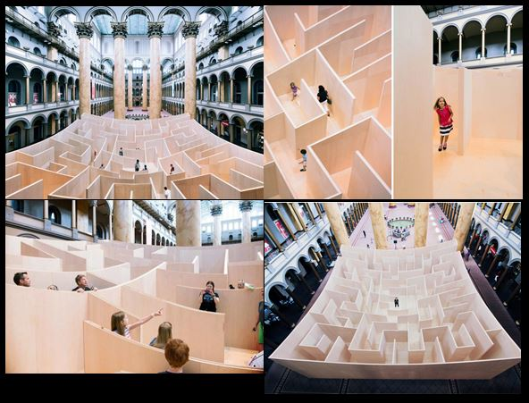 The psychology of the maze as a modern symbol culture for Mirror synonym