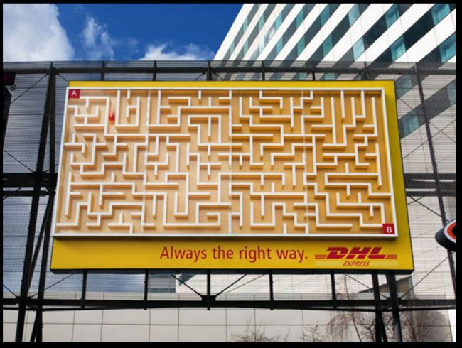 DHL advertising