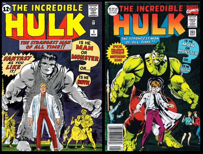 History of the Hulk Comic