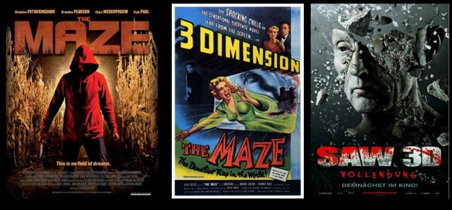 Horror Movies with Mazes