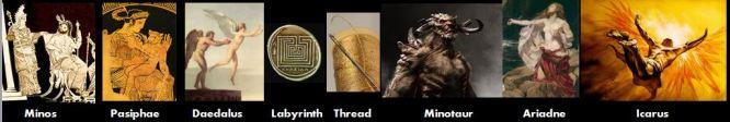 minos myth Theseus