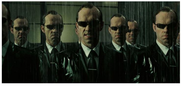 mr smith in the Matrix