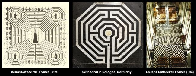 octoganol Christian Labyrinths