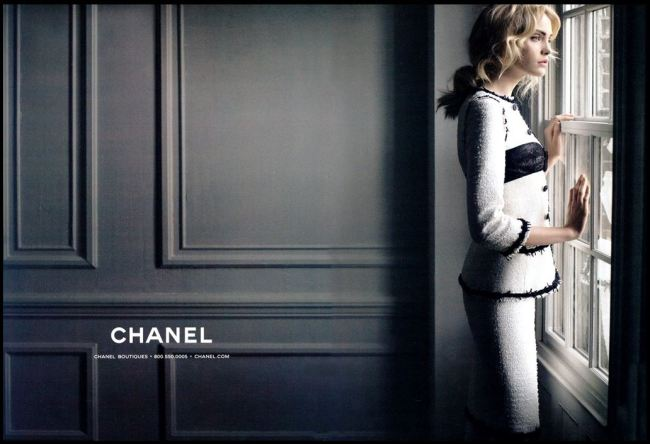 appartment chanel advertising