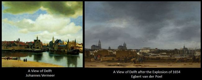 City of Delft Skyline
