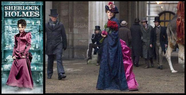 Rachel McAdams Sherlock Holmes Fashion