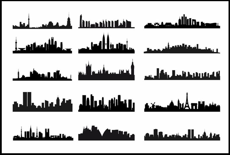 why are we no longer in love with our cities  culture Downtown Detroit Skyline detroit skyline vector free