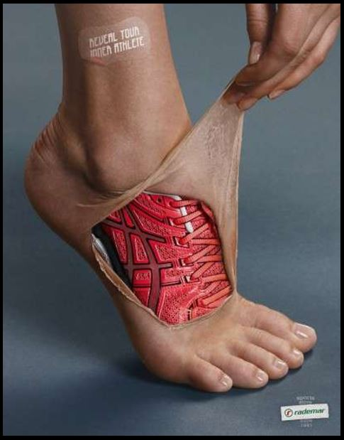 Running Shoe tatoo