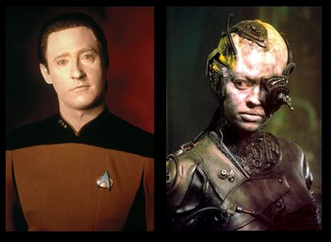 Star Trek Data and Borg