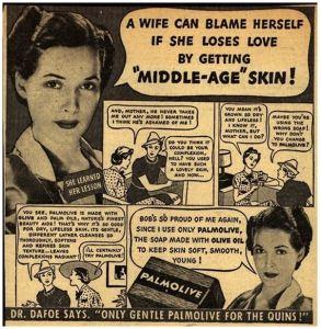 Palmolive ageing advertising